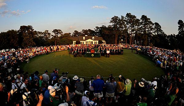 Golf: US Masters in Augusta: Golfers Paradise