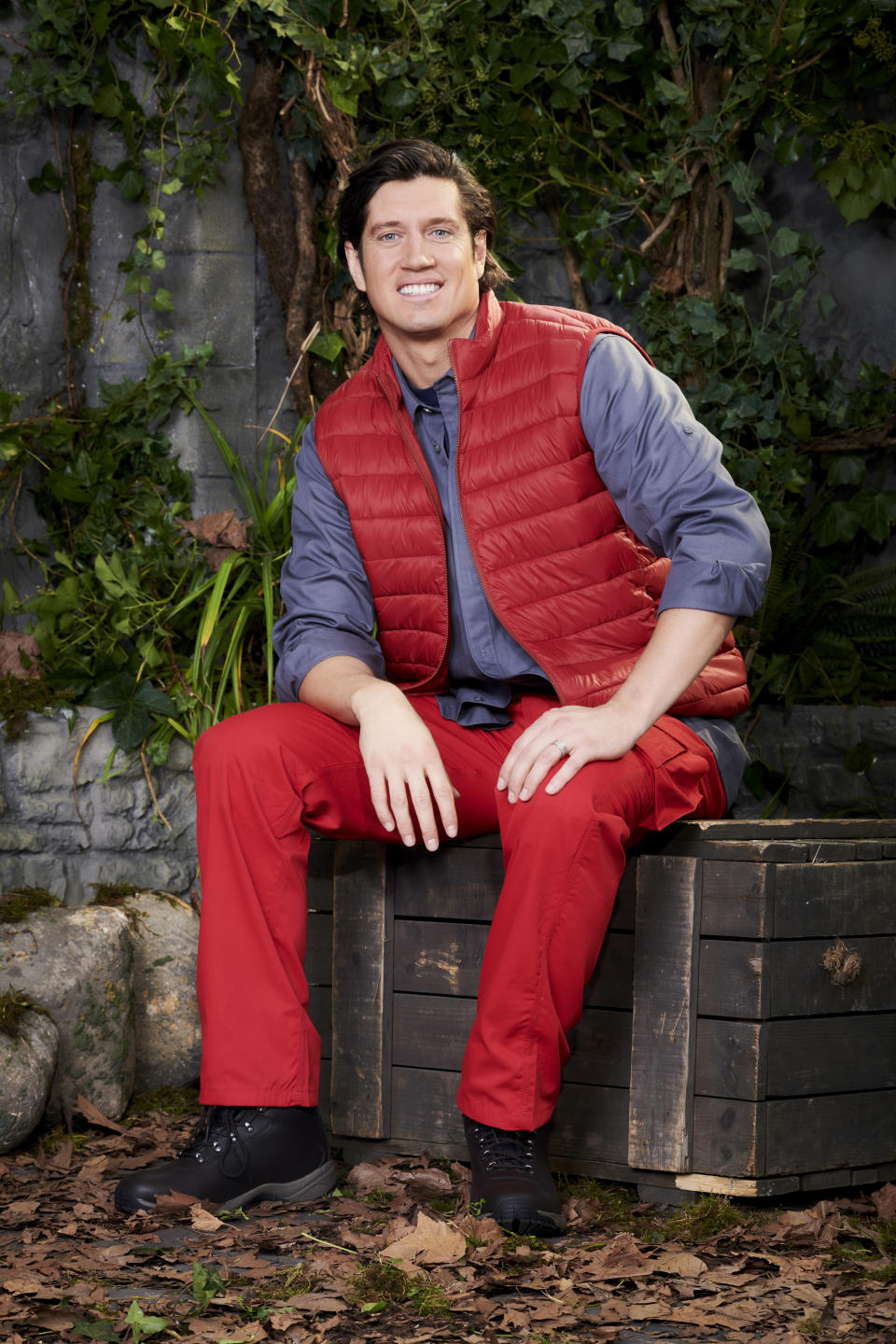 Vernon Kay in a promotional still for I'm A Celebrity... Get Me Out Of Here! (ITV)