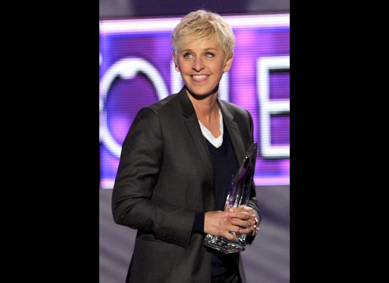 We're not surprised she took home honors at the 2012 People's Choice Awards. Ellen, don't ever change!