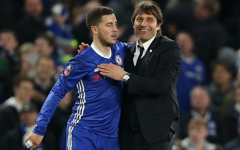 Hazard is an 'emotional player who needs support', according to Ballack - Rex Features