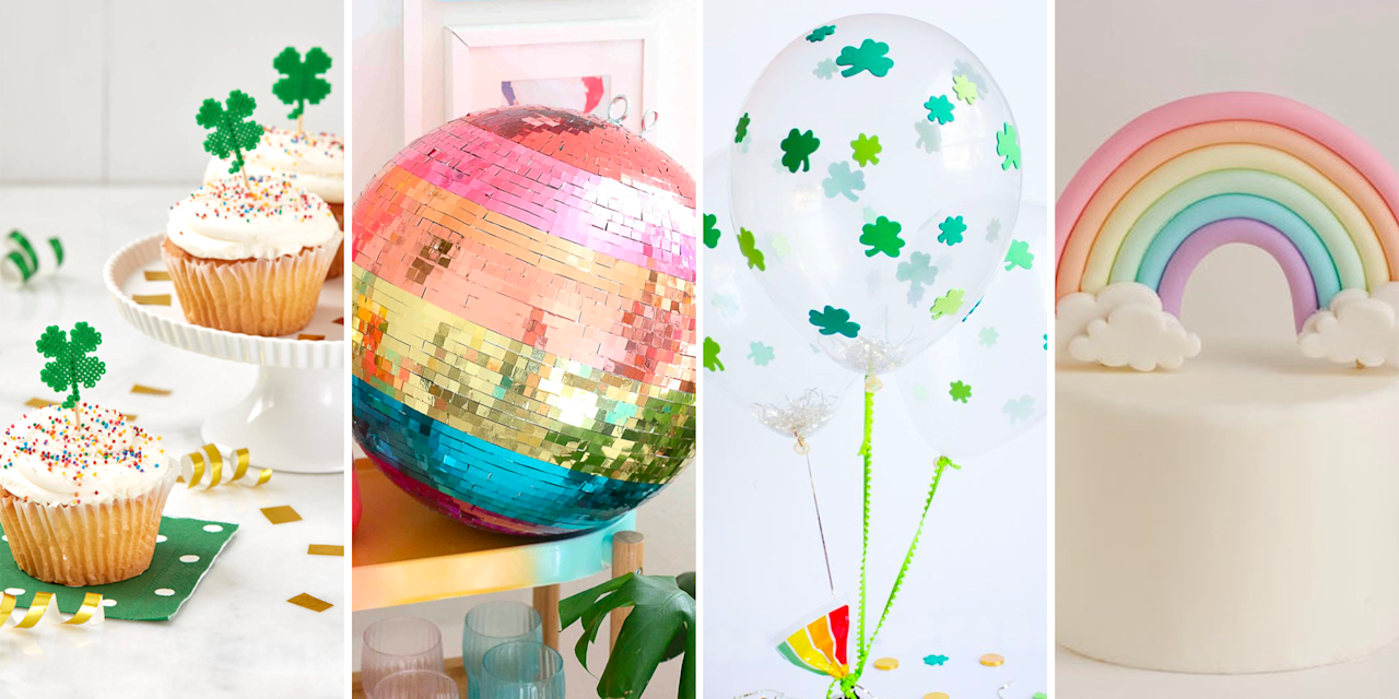 """<p>If you're ready to """"paddy,"""" the first step is to deck your house out, both indoors and outdoors. But you don't need to spend hours scouring Pinterest for St. Patrick's Day decorations. (Wouldn't you rather focus on the <a href=""""https://www.oprahmag.com/life/g30811401/st-patricks-day-party-ideas/"""" target=""""_blank"""">party games</a> or the <a href=""""https://www.oprahmag.com/life/food/g30782819/st-patricks-day-desserts/"""" target=""""_blank"""">green desserts</a>?!) Whether you're on the hunt for store-bought decor or easy DIYs you can complete with craft supplies from Hobby Lobby or even Dollar Tree, these festive ideas will make your home as pretty as a pot of gold.</p>"""