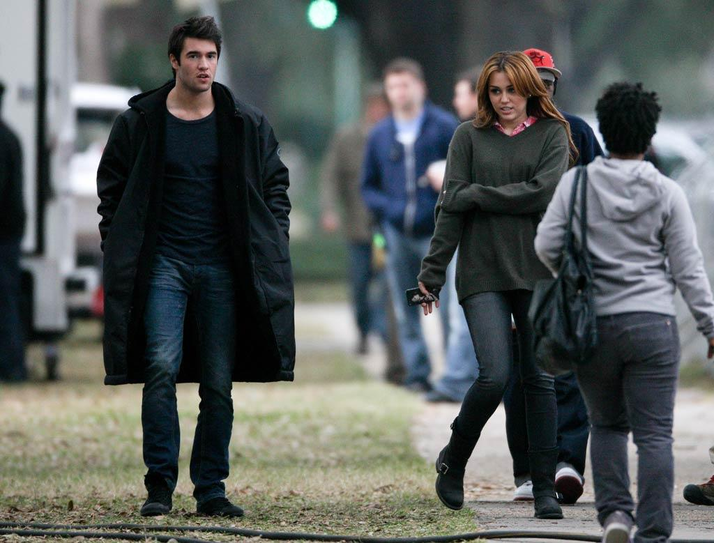 "Taking a break from music, ""The Last Song"" star said she was going to focus on her movie career. In January, she was snapped filming a scene for ""So Undercover"" with co-star/rumored romantic interest Josh Bowman in New Orleans, and also completed a role in the flick, ""LOL,"" both of which are scheduled to be released in 2012. Do you think they'll make it to the big screen, or go straight to DVD? (01/16/2011)"