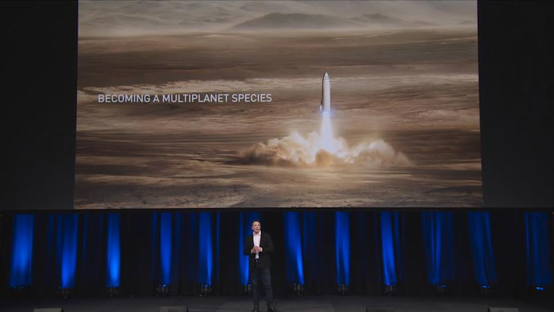 SpaceX will build its massive interplanetary rocket in Los Angeles