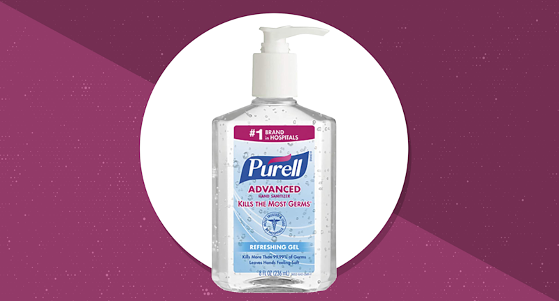 Purell Instant Hand Sanitizer, Pump Bottle — 8 ounces. (Photo: Purell)
