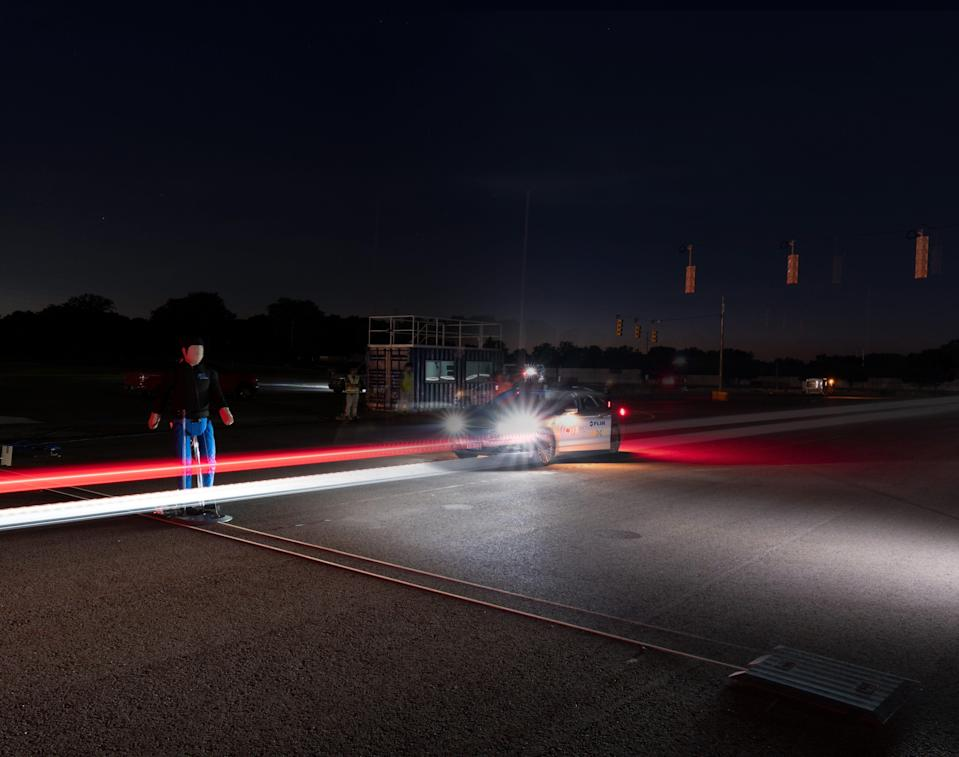 Thermal imaging company Flir Systems recently conducted testing in Michigan to show how its sensors could help advanced driver assistance systems detect pedestrians in dark conditions.