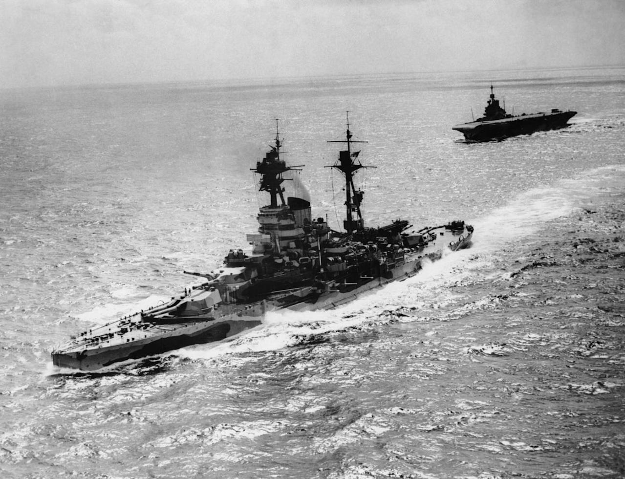 How 1 Nation's Aircraft Carriers and Battleships Helped Smash Imperial Japan.