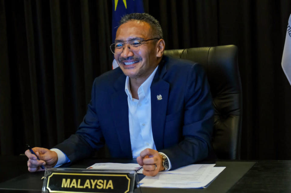 Hishammuddin said Malaysia needed to pursue greater mass testing to better manage outbreaks all over the country as rightfully noted by health experts and political leaders. — Bernama pic