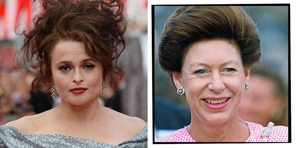 <p><strong>Who plays Princess Margaret in</strong><strong> The Crown seasons 3 and 4</strong>?</p><p><strong>Helena Bonham-Carter: </strong>One of the most celebrated British actresses from recent times is Bonham-Carter who began to rise to stardom in the 1980s and 1990s with film roles in Fight Club, Howard's End and A Room With A View. </p><p>Ever since, Bonham Carter's characters have been varied and captivating, from Bellatrix Lestrange in Harry Potter and the Queen of Hearts in Alice in Wonderland to the Queen Mother in A King's Speech opposite Colin Firth.</p>