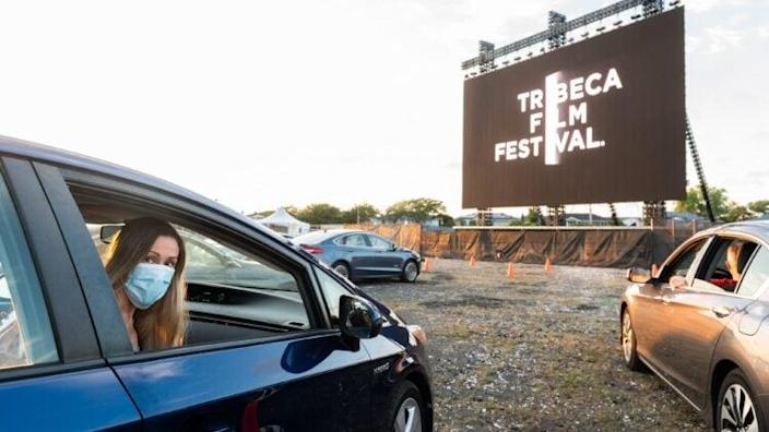 Tribeca Drive-In At Nickerson Beach, Presented By Tribeca Enterprises, In Partnership With IMAX, AT&T And Walmart