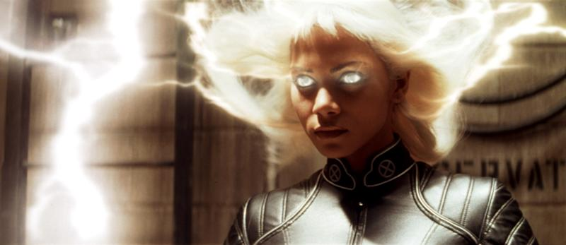 Halle Berry lights up the screen as Storm in 'X-Men' (Photo: 20th Century Fox Film Corp. All rights reserved. Courtesy: Everett Collection)