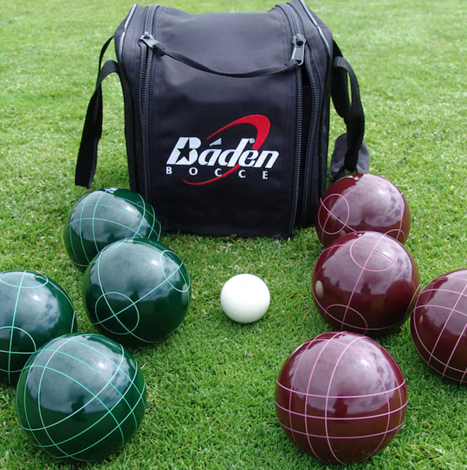 "<h3><a href=""https://www.kohls.com/product/prd-830001/baden-champions-series-bocce-ball-set.jsp"" rel=""nofollow noopener"" target=""_blank"" data-ylk=""slk:Baden Champions Series Bocce Ball Set"" class=""link rapid-noclick-resp"">Baden Champions Series Bocce Ball Set</a></h3> <br>Get in touch with your inner old Italian dude with a game of bocce enjoyed on a sunny summer's day. <br><br><br><strong>Baden</strong> Champions Series Bocce Ball Set, $, available at <a href=""https://go.skimresources.com/?id=30283X879131&url=https%3A%2F%2Fwww.kohls.com%2Fproduct%2Fprd-830001%2Fbaden-champions-series-bocce-ball-set.jsp"" rel=""nofollow noopener"" target=""_blank"" data-ylk=""slk:Kohl's"" class=""link rapid-noclick-resp"">Kohl's</a><br><br>"