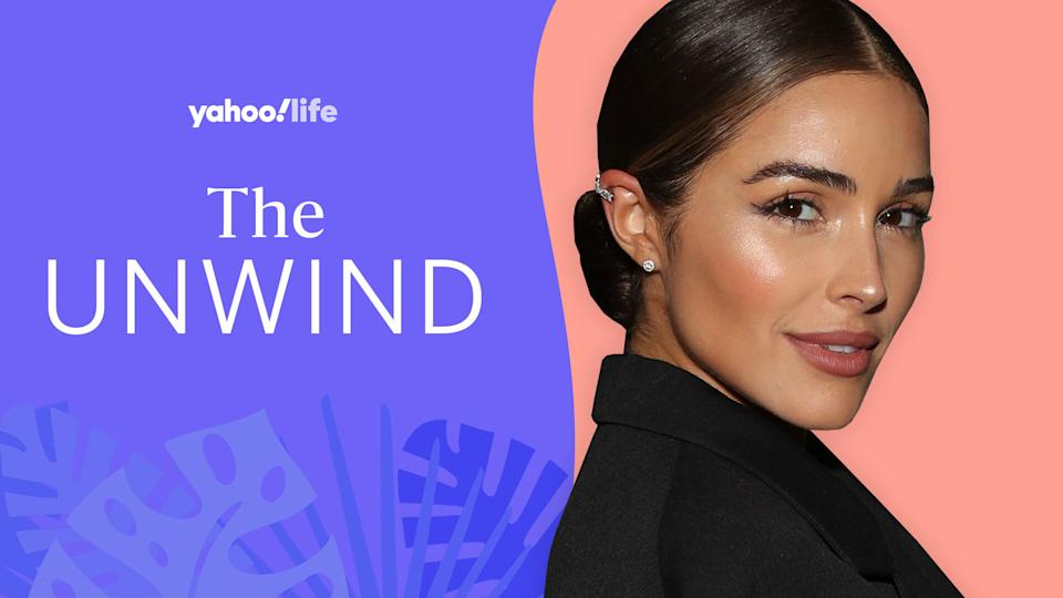 Olivia Culpo talks journaling, breakup advice and painful periods. (Photo: Getty Images; designed by Quinn Lemmers)