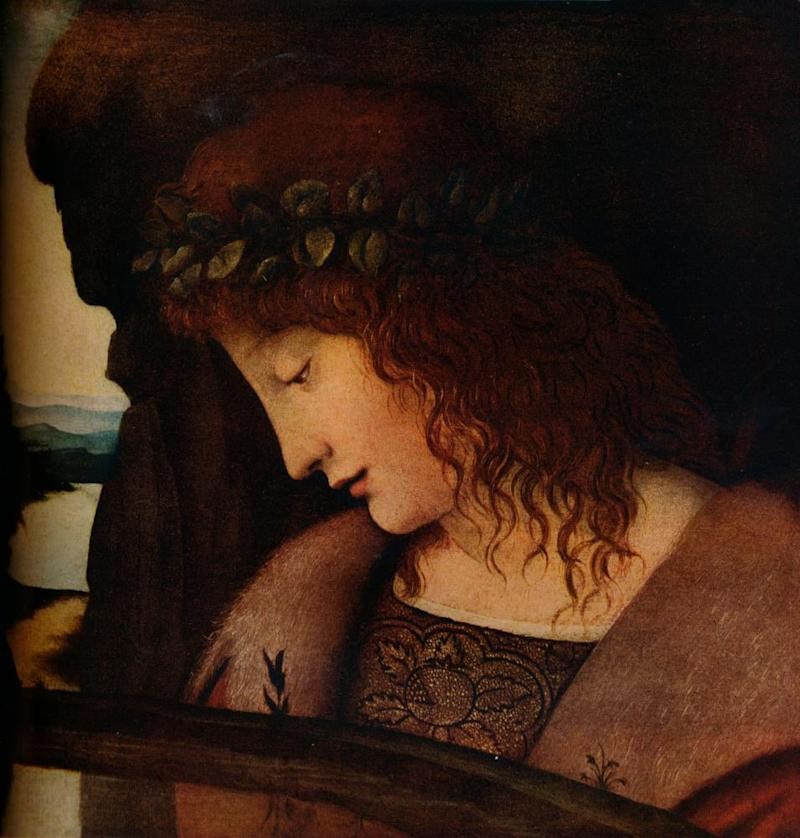 Narcissus by a follower of Giovanni Antonio Boltraffio, circa 1500