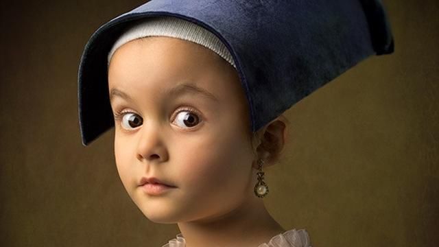 These Aren't Your Average Snapshots: Bill Gekas' Portraits of His Daughter as Classic Paintings