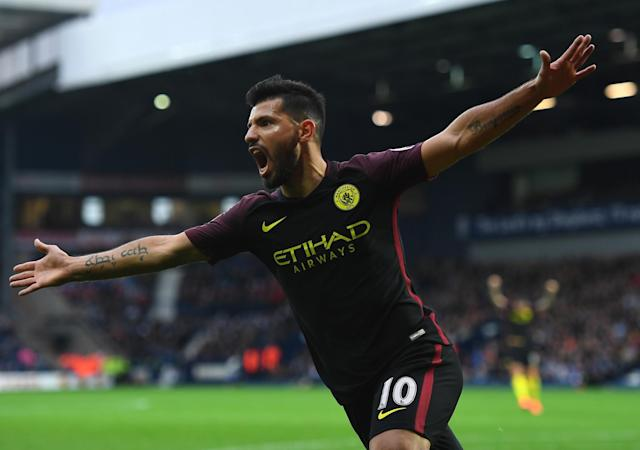 <p>Still playing and looking set to add a lot more goals to his total for Manchester City. </p>