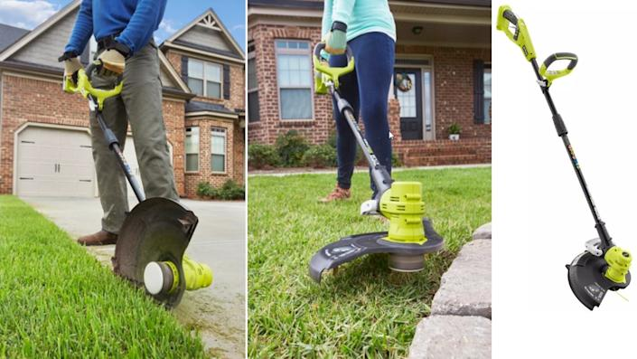 Cordless Electric String Trimmer / Edger - The Home Depot, $98