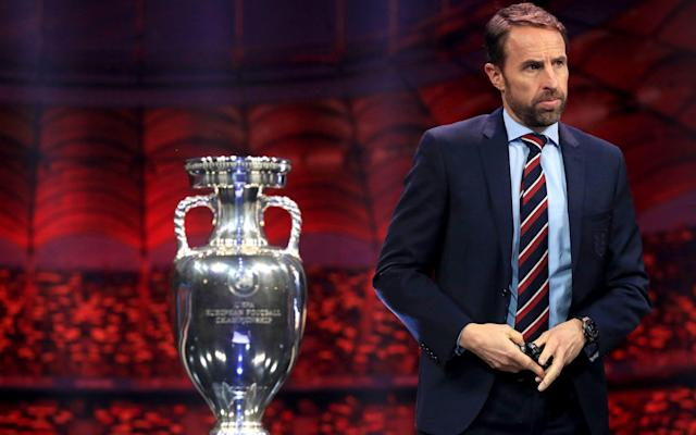 Gareth Southgate discovered England's Euro 2020 fate on Saturday - PA