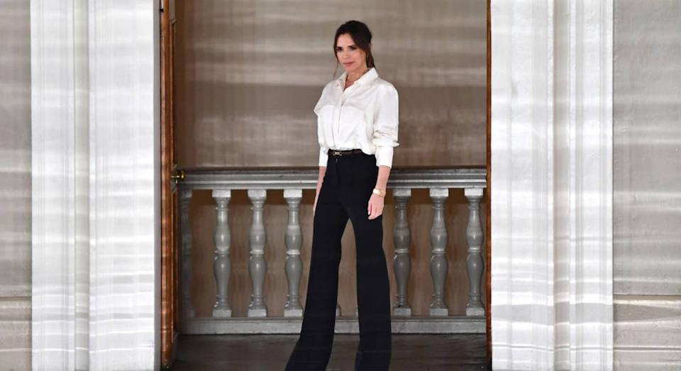 Victoria Beckham on her meaningful meeting with Beyoncé. (Getty Images)