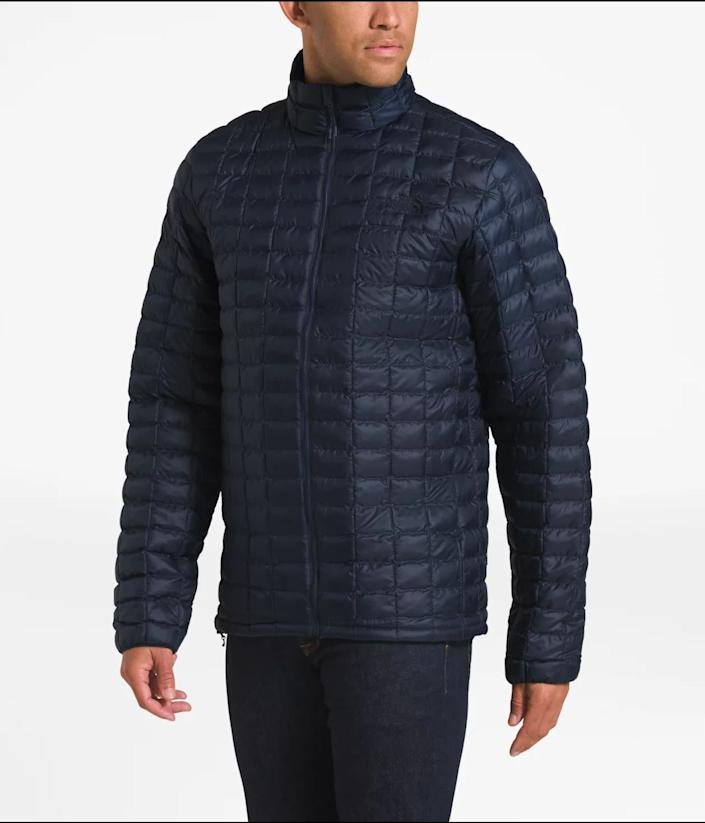 """This jacket comes in sizes L to 3XL. <strong><a href=""""https://fave.co/38989tw"""" rel=""""nofollow noopener"""" target=""""_blank"""" data-ylk=""""slk:Find it at The North Face"""" class=""""link rapid-noclick-resp"""">Find it at The North Face </a></strong>."""