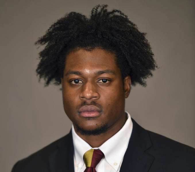 This photo provided by Sun Devil Athletics shows N'Keal Harry. Harry is a possible first in the 2019 NFL Draft. (Sun Devil Athletics via AP)