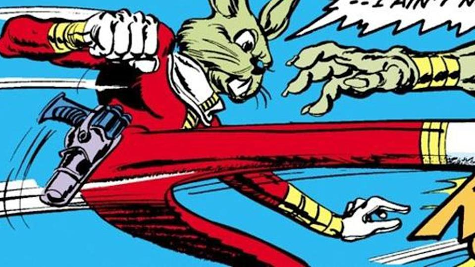 Jaxxon the Lepi smuggler was giant green bunny rabbit, one of the first new character to appear in the galaxy after A New Hope.