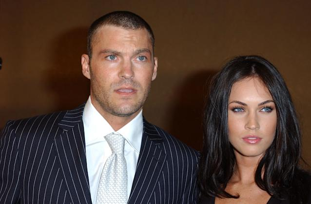 Brian Austin Green and Megan Fox became engaged in 2006. (Getty Images)
