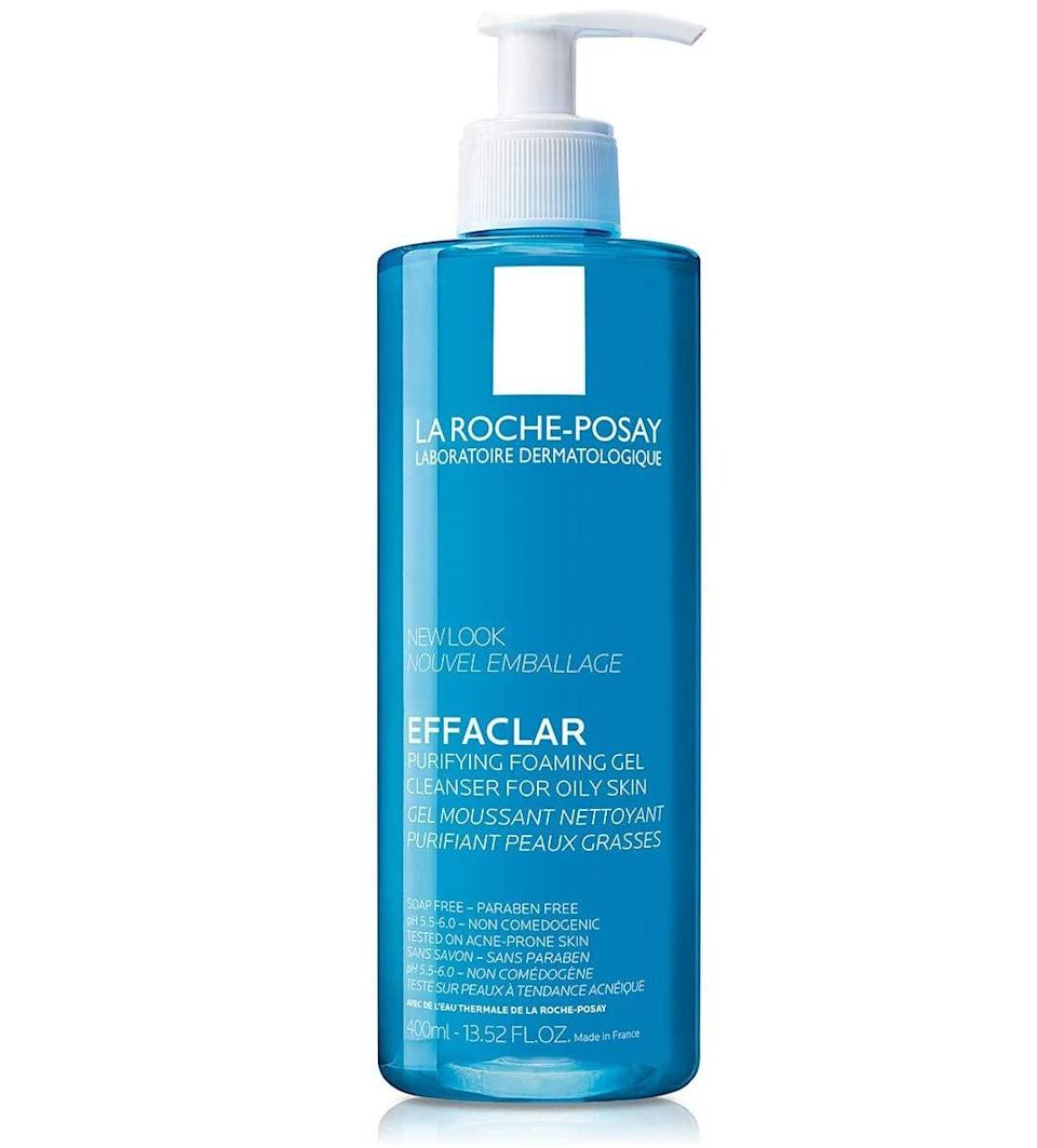 <p><span>La Roche-Posay Effaclar Purifying Foaming Gel Cleanser </span> ($15, originally $20)</p>