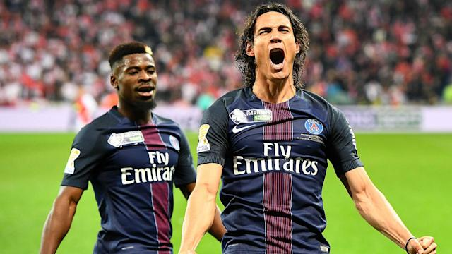 The South American duo were on target, along with Julian Draxler, in a 4-1 win over Monaco to secure a fourth successive triumph in the competition