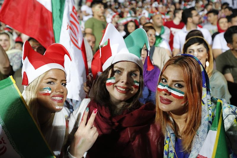 Image result for iran fans in tears