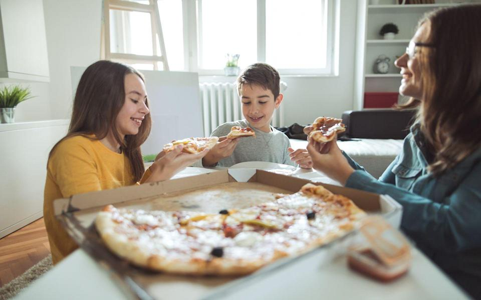 <p>Grab the dough and some toppings and have fun creating unique pizza combinations.</p>