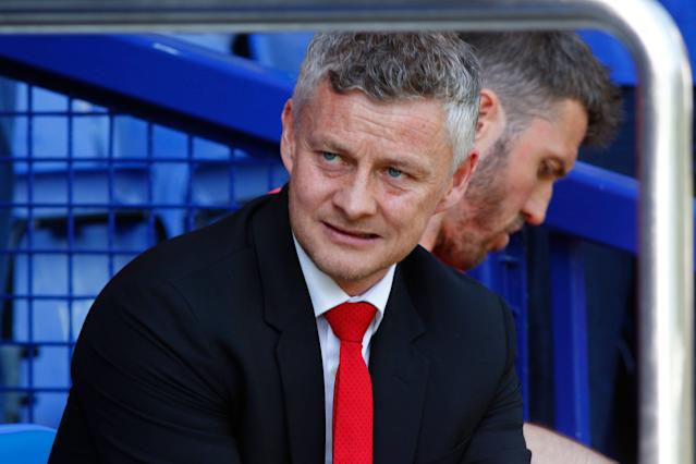 "Ole Gunnar Solskjaer's <a class=""link rapid-noclick-resp"" href=""/soccer/teams/manchester-united/"" data-ylk=""slk:Manchester United"">Manchester United</a> has now lost six of its last eight games. (Alan Martin/Getty)"