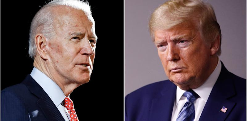 Here's what to know about the Joe Biden, Donald Trump competing town halls tonight