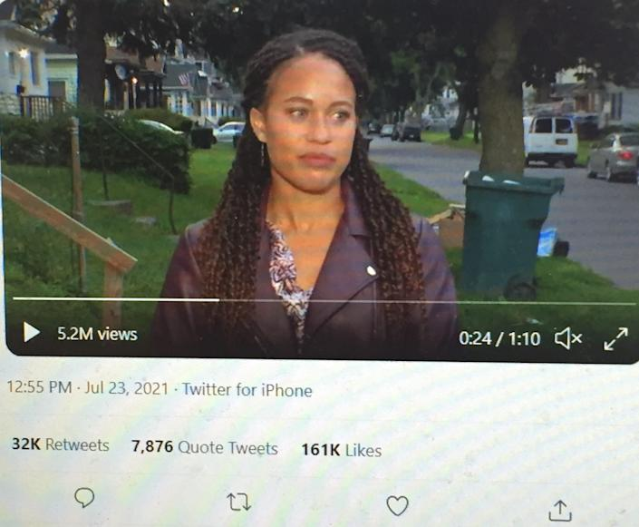 Spectrum News reporter Brianna Hamblin was preparing to share news of a summer meal delivery program in Rochester when she was sexually harassed by a passerby.