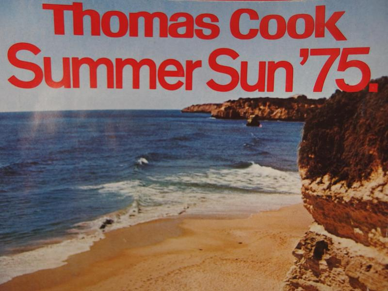 Different world: Thomas Cook Summer Sun brochure from 1975, when Club 18-30 was young: Thomas Cook Archive