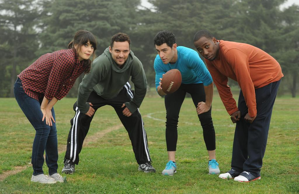 "<p><b>1. Jess, Nick, Schmidt, & Winston (""<a href=""http://tv.yahoo.com/new-girl/show/47384"">New Girl</a>"")</b><br><br>  One girl, three guys? Sounds like a show on a racier network than Fox, but this foursome is of the totally PG-13 variety and we still get a kick out of them. They are at their best when together in strange predicaments, but click in smaller permutations as well. There's not a third (or fourth) wheel in this scenario; they've all got each other's backs, with the douchebag jar keeping everyone (mostly Schmidt) in check. </p>"