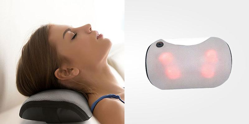 Skip the massage appointment and give yourself heated shiatsu relief with these massage devices. (Photo: Yahoo Lifestyle Shop)