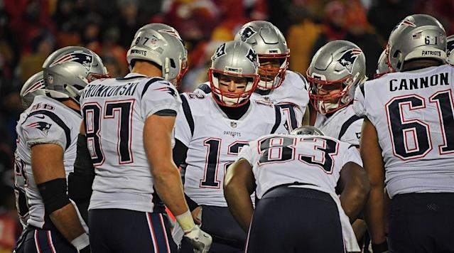The Patriots' recent Super Bowl victories have been preceded by strong offensive showings similar to ones New England has put forth in this postseason.