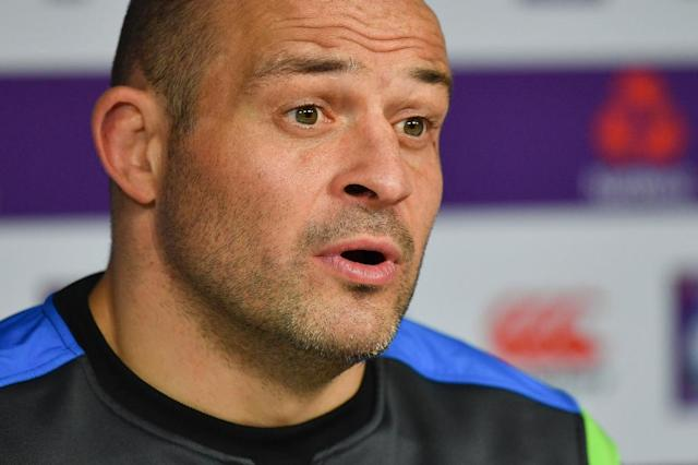 Rory Best expects to lead Ireland into the 2019 World Cup after signing a new international contract (AFP Photo/OLLY GREENWOOD)