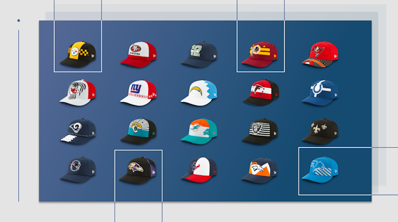 70c7edd36 Unveiling the Official 2019 NFL Draft Hats From New Era