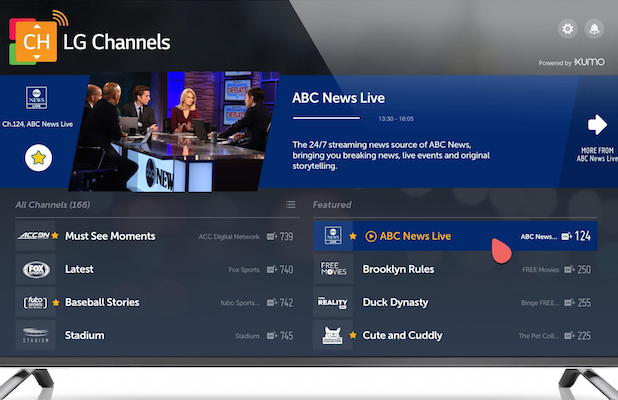Xumo Adds 24/7 Live ABC News Channel as 2020 Presidential Race Heats Up