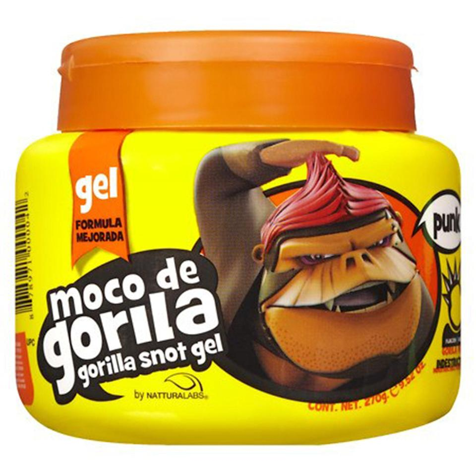 """<p>The Moco de Gorila Snot Gel is a great option if you're on a budget. This edge tamer is a classic for a reason — it's got some of the best staying power out there. Even in the midst of an apocalypse, your baby hairs will still look fly. It's also amazing at keeping the edges of <a href=""""https://www.allure.com/story/wigs-beginners-guide?mbid=synd_yahoo_rss"""" rel=""""nofollow noopener"""" target=""""_blank"""" data-ylk=""""slk:lace-front wigs"""" class=""""link rapid-noclick-resp"""">lace-front wigs</a> in place.</p> <p><strong>$3</strong> (<a href=""""https://goto.walmart.com/c/1324868/565706/9383?subId1=BestEdgeControlProducts&veh=aff&sourceid=imp_000011112222333344&u=https%3A%2F%2Fwww.walmart.com%2Fip%2FMoco-de-Gorila-Snot-Hair-Gel-Punk-Yellow-Squeeze-Tube-11-9oz%2F17179781"""" rel=""""nofollow noopener"""" target=""""_blank"""" data-ylk=""""slk:Shop Now"""" class=""""link rapid-noclick-resp"""">Shop Now</a>)</p>"""
