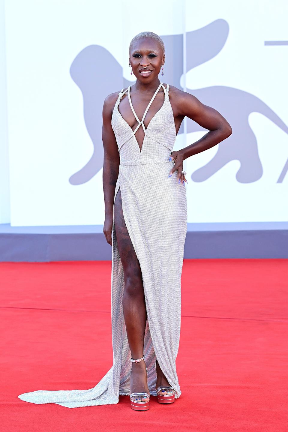"""Cynthia Erivo attended the premiere of the movie """"Madres Paralelas."""""""