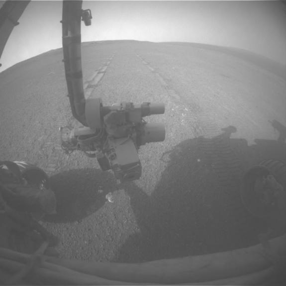 Mars Rover Opportunity Breaks US Record for Off-Planet Driving