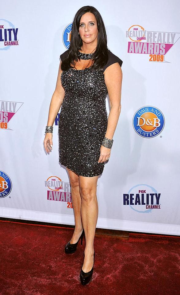 "Patti Stanger (aka the ""Millionaire Matchmaker"") looked like she'd rather be anywhere but on the red carpet for the Fox Reality Channel Really Awards. Jeffrey Mayer/<a href=""http://www.wireimage.com"" target=""new"">WireImage.com</a> - October 13, 2009"