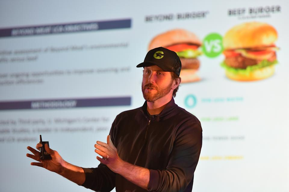 Beyond Meat founder and CEO Ethan Brown has growth on his mind. (Photo by Tom Cooper/Getty Images for Wellness Your Way Festival)
