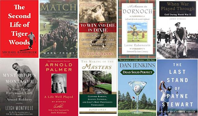 A great new golf book.