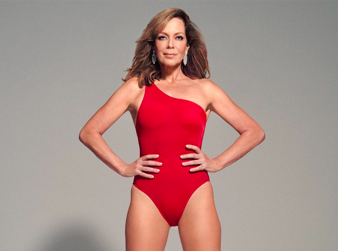 Allison Janney killing it in her latest shoot for InStyle [Photo: Alexander Neumann/Shotview for InStyle]