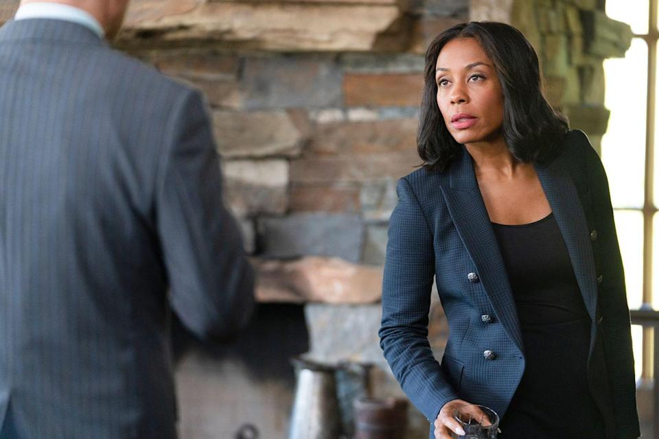 <p>Willa teams up with Roark to go head-to-head with Beth and the Dutton family. You've seen her on<em> The Morning Show, The Americans,</em> and <em>Luke Cage. </em></p>