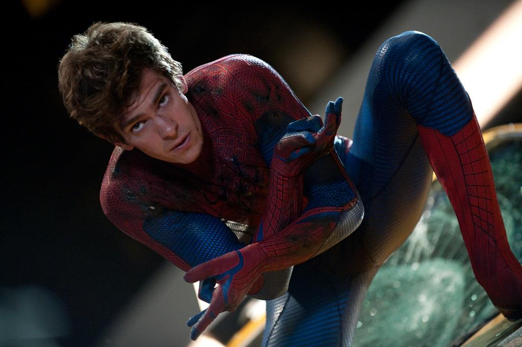"""<b>Definitely Not Aquaman</b><br>As a lifelong Spidey fan, there was little doubt that Garfield would commit himself fully to the part. However, he may have gone overboard. While on set, Garfield dove into a pool wearing the mask, nearly drowning himself in the process. """"I had to get wet, and I just kind of dove in and didn't realize that water on the mask made it impossible to breathe. So I was kind of, like, suffocating. I couldn't get any oxygen! I water-boarded myself,"""" <a href=""""http://ibnlive.in.com/news/i-almost-suffocated-on-spiderman-set-garfield/268024-8-67.html"""">says Garfield</a>."""