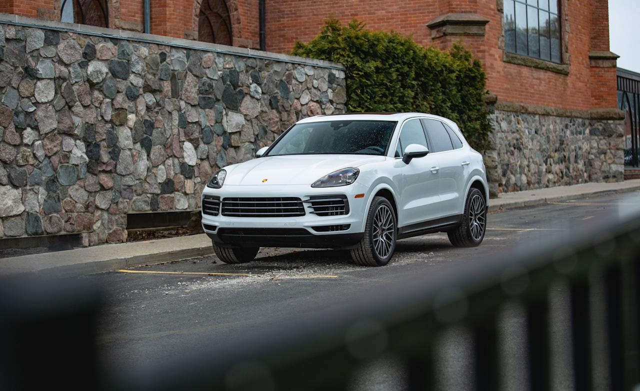 """<p>The 2019 Porsche Cayenne S really is the Porsche of SUVs, performing and driving more like a lower and lighter sports sedan than a top-heavy ute. Our test numbers reveal that it can hang with four-door cars from Mercedes-AMG and Audi. Read the full story <a href=""""https://www.caranddriver.com/reviews/a28391254/2019-porsche-cayenne-s-by-the-numbers/"""" target=""""_blank"""">here</a>.</p>"""
